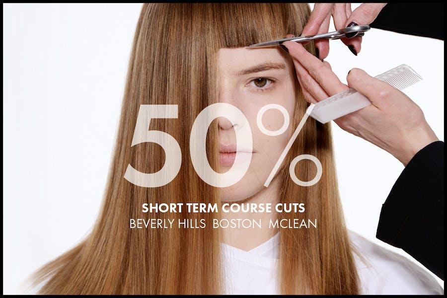 50% SHORT TERM COURSE CUTS
