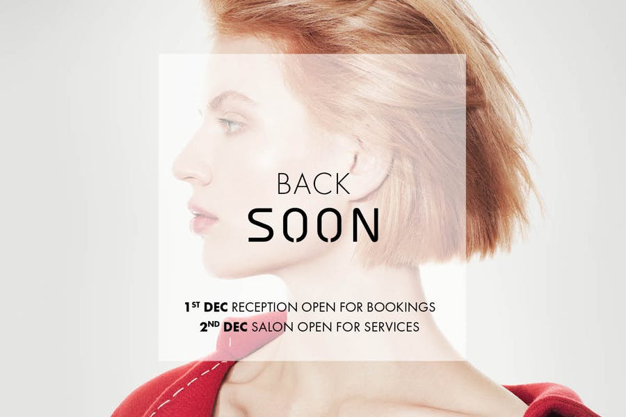 SALONS REOPENING SOON
