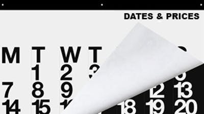 DATES & PRICES