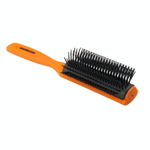 Vess 9 Row Ceramic Brush | Orange — $28.00