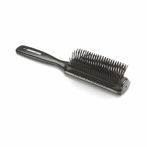 Vess 9 Row Ceramic Brush | Black — $28.00