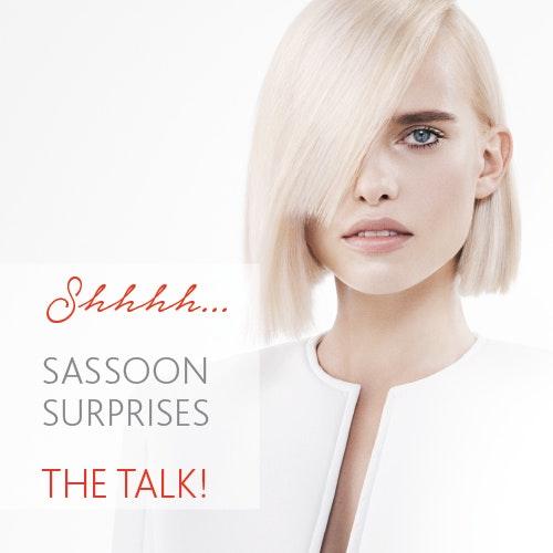 SASSOON SURPRISES THE TALK!