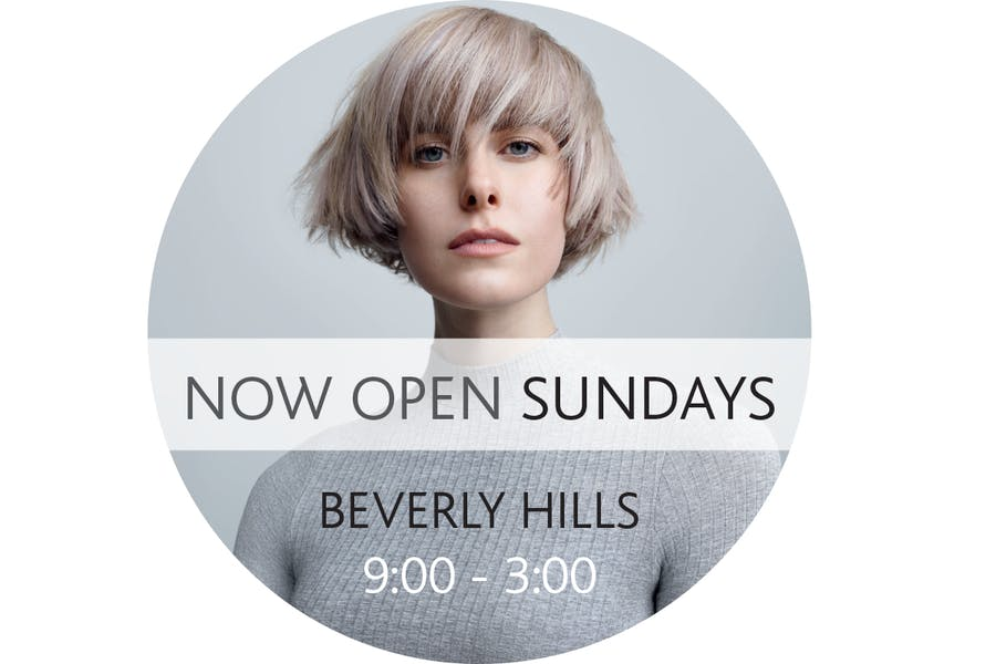 Sassoon Salon Beverly Hills | Open Sunday