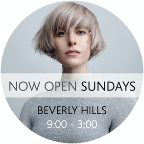 Sassoon Salon Beverly Hills | Open Sunday