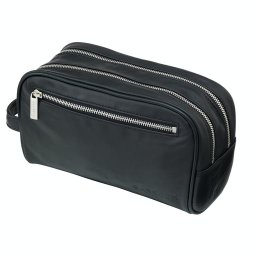 Leather Washbag — £55.00