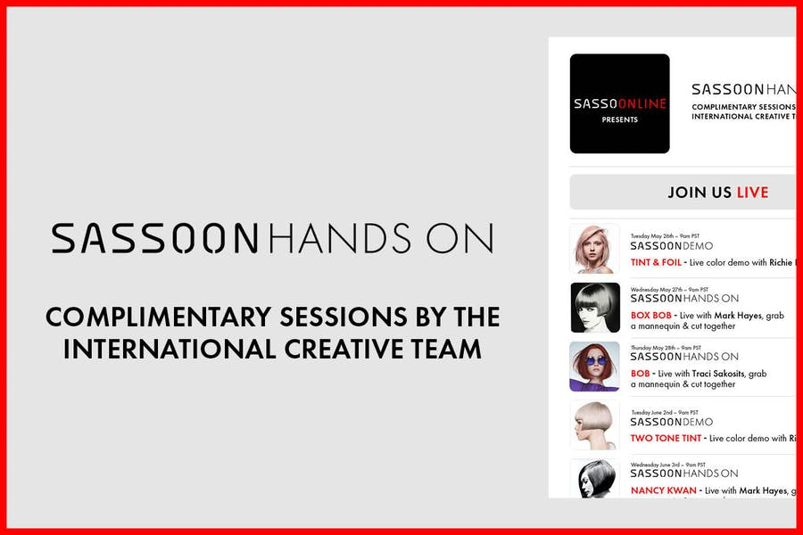 COMPLIMENTARY SESSIONS BY THE INTERNATIONAL CREATIVE TEAM
