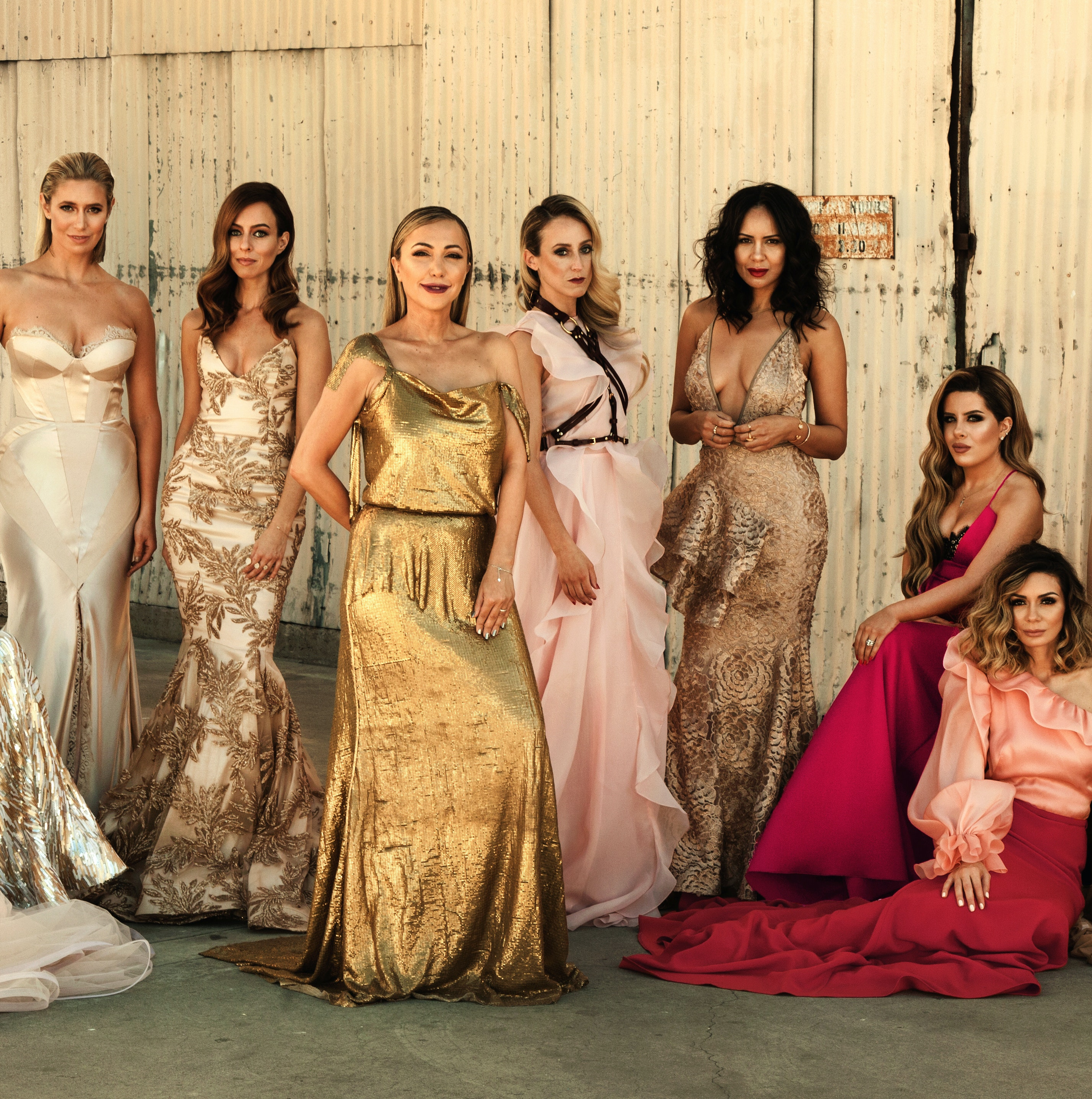 SASSOON BEVERLY HILLS STYLES VANITY FAIR INSPIRED SHOOT | #THESOCIALEDITION